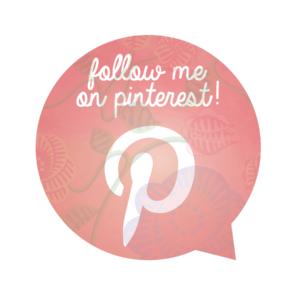 Follow me - Pinterest!